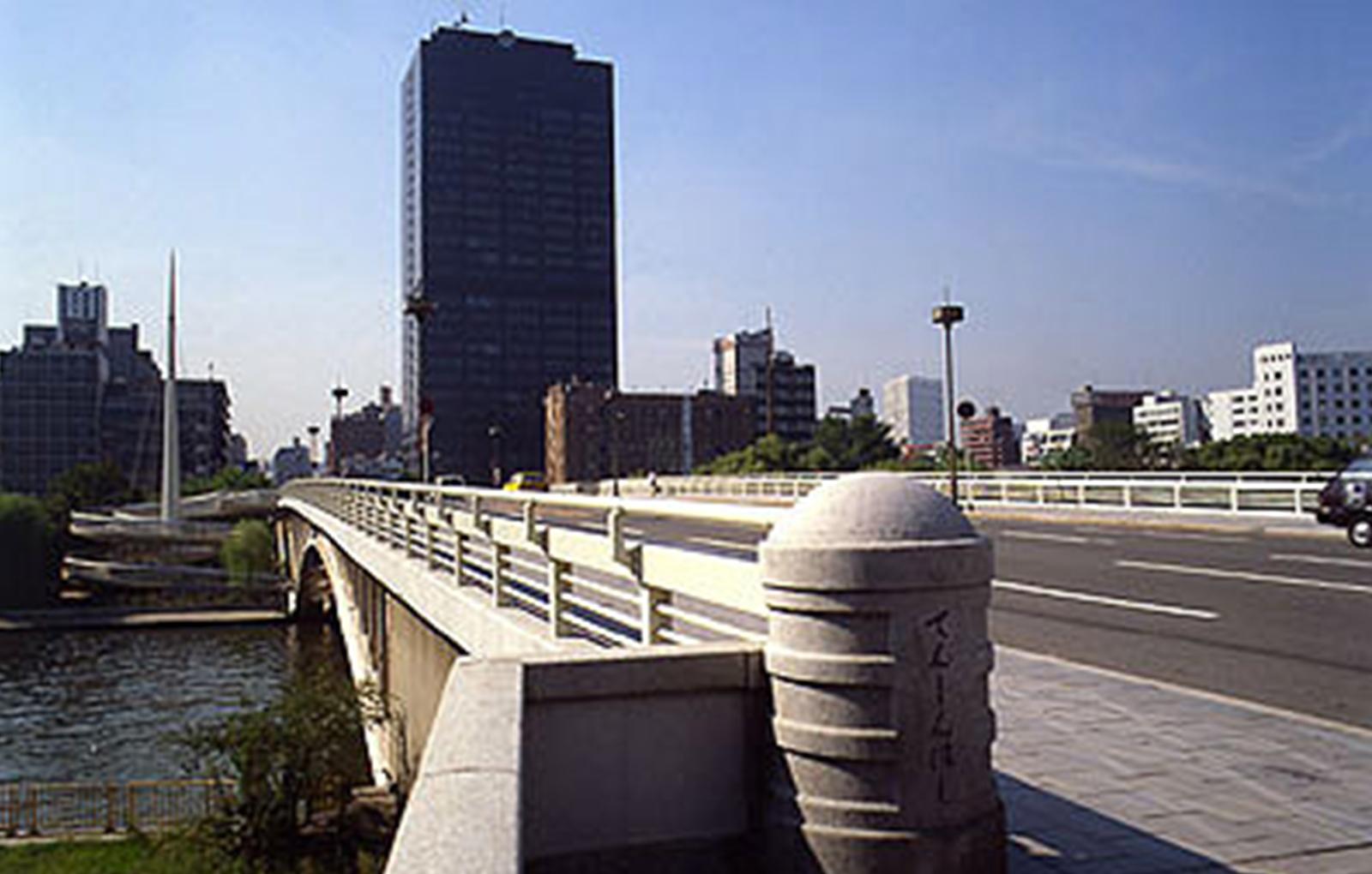 天神橋改装工事