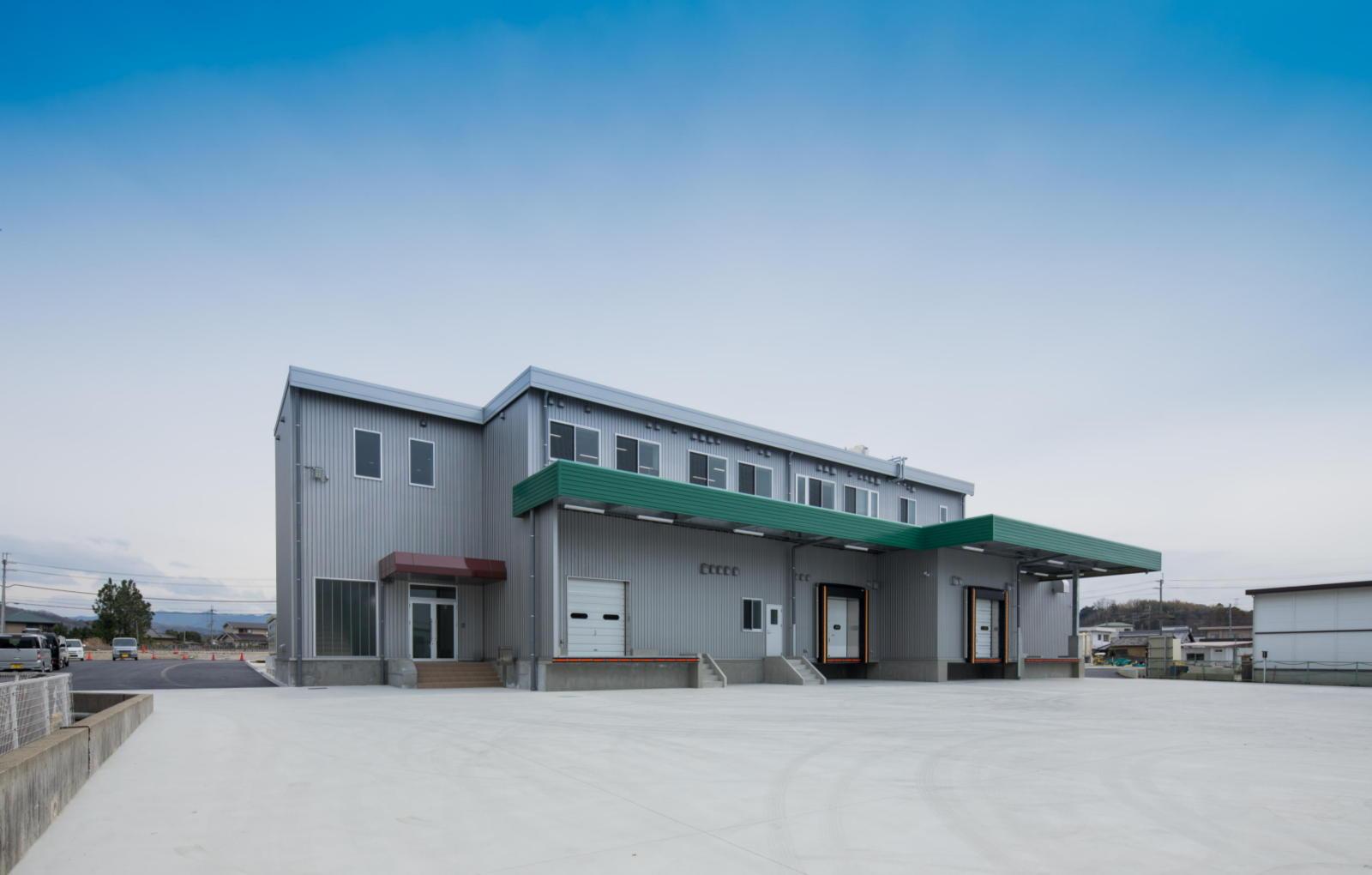 ポタジエ加工場新築工事